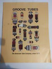 Groove Tubes Prospektblatt