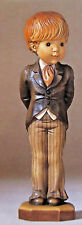 Anri Sarah Kay   With This Ring Vintage Hand Carved Figurine *Brand New* Boy Usa