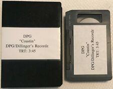 DPG-COASTIN'/DILLINGERS RECS U-MATIC SINGLE PROMO MUSIC VIDEO + DVD/RAP HIPHOP
