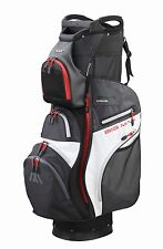 Big Max Cartbag - Dri Lite PRIME - wasserdicht - black/charcoal/red, Neuheit!