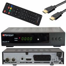 Optikum c100 Schwarz DVB-C Kabel Receiver HDTV HDMI Scart 1080p Cable digital TV