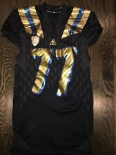 "Game Worn Ucla Bruins ""City"" Football Jersey Used adidas #77 Sz Xl Kolton Miller"