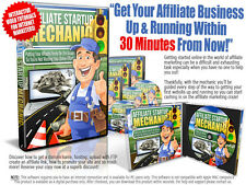 Affiliate Startup Mechanic Video Course Software on 1 CD