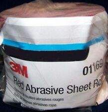 3M Red 1684 Stick It Adhesive Back Continuous Sheet Roll Sandpaper 220 Grit