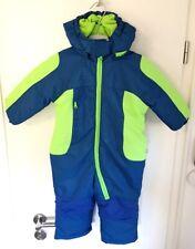 Liegeling Junge Schneeanzug Gr. 80 Leuchtfarbe Skianzug Overall Baby-Schneeanzug