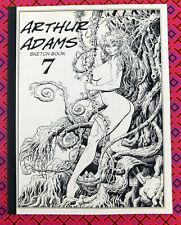 ARTHUR ADAMS Sketchbook #7 2008 Signed Autographed