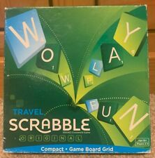 Mattel Travel Scrabble Original Board Game - Complete With Instructions