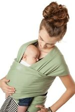 New Authentic MOBY CLASSIC WRAP Infant, Baby, Carrier, Sling-MOSS