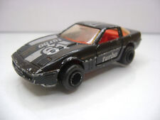 Diecast Majorette Chevrolet Corvette No. 268 1:57 in Black Good Condition