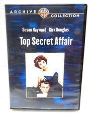 2M DVD TOP SECRET AFFAIR WB Archive Collection Susan Hayward Kirk Douglas