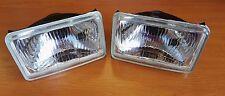 Jeep Wrangler YJ klein Scheinwerfer Headlight Kit Set New Neu 2x