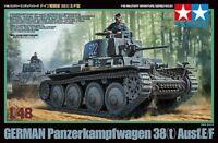 TAMIYA 32583 - 1/48 WWII Dt. PZKPFW 38(t) AUSF. E/F - NEU