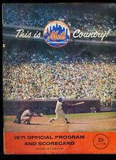 1971 New York Mets baseball program v Phillies (Nolan Ryan pitcher)