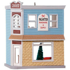 Hallmark Ornament 2017 Nostalgic Houses #34 - Palmiter Hardware & Supply #QX9462