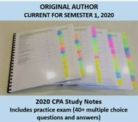 CPA Strategic Management Accounting HD study notes 2020
