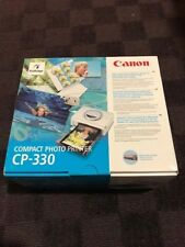 Canon Compact Photo Printer CP-330 Brand New Unused with battery pack READ