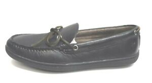 Frye Size 10.5 Black Leather Loafers New Mens Shoes