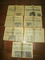 MIO FRATELLO ALBINO PAPA LUCIANI +7 Giornali PAPA WOJTYLA GIOVANNI XXIII PIO XII