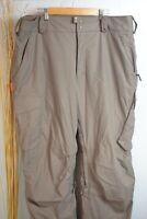 BURTON:: RONIN Snowboard Ski Snow Waterproof Pants Mens (XL X-Large) Gray