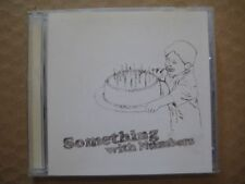 SOMETHING WITH NUMBERS Self Titled RARE AUSSIE 7 Track CD 2002 Demo's + Triple J