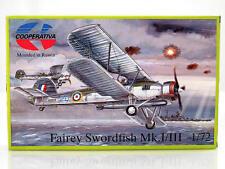 Cooperativa 72130 Fairey Swordfish Mk. I/III 1:72 modellismo statico