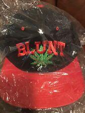 Vtg 90's BLUNT Snapback Hat Cap Dr. Dre Rap Deadstock Mint Weed Chronic
