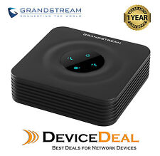 Grandstream HT802 2 Port FXS analog telephone VOIP adapter (ATA) Replaces HT702
