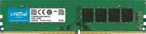 Micron Crucial DDR4 module 8 GB DIMM 288-pin 2666 MHz / PC4-21300 CT8G4DFRA266