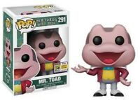 Mr Toad SDCC LE1500 Funko Pop Vinyl New in Mint Box + Protector