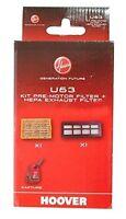 Hoover U63 TCPW1450 Hepa Motore di Pre & Esausto Kit Filtro 35601193 Originale