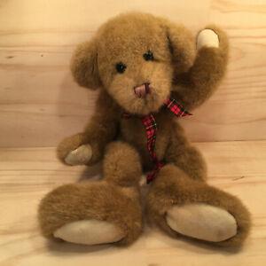 """CARAMEL THE BEAR """"Brown"""" Gorgeous Faux Fur Teddy Bear Cuddly Soft Toy Friend"""