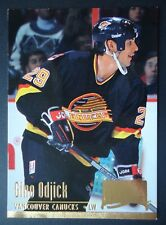 NHL 229 Gino Odjick Vancouver Canucks Fleer Ultra 1994/95