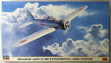 Hasegawa 09840 Mitsubishi A6M1 12-SHI EXPERIMENTAL ZERO 1/48 scale kit AKS