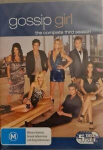 Gossip Girl : Season 3 (DVD, 2010, 5-Disc Set)