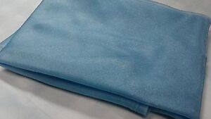CLEARANCE PERIWINKLE SKY BLUE CRYSTAL ORGANZA TABLE CLOTHS TABLE  OVERLAYS