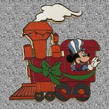Fab 5 Christmas Train Pin Mickey - Disney Auctions Pin LE 100