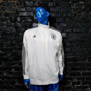 Germany Team Training Jacket With Zipped Adidas AC6706 Mens Size 2XL