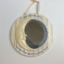I See The Moon Childs Mirror 11 Inch Ceramic Amscan 450965