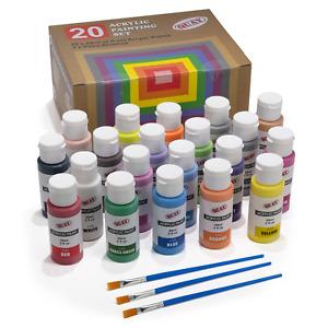 Acrylic Painting Set - 20 Colour