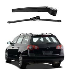 Rear Wiper Arm & Blade Set For 06-09 VW Golf GTI R32 Rabbit 06-10 Passat Wagon