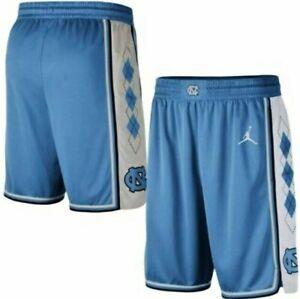 Nike Jordan UNC Carolina Tar Heels Argyle Limited Basketball Shorts S - XXL Mens