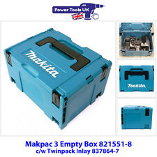 Makita 821551-8SP Empty Plastic Case for DHP458 + DTD152 or DHP482 + DTD152 Kits