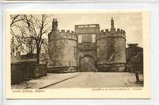 (Ga3721-100) Castle Gateway, DES-OR-MAIS, SKIPTON Castle c1910 EX