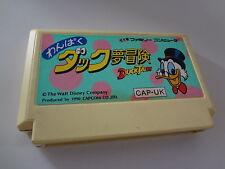 LOOSE DuckTales Nintendo Famicom Japan