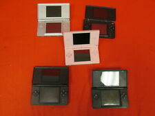 Broken Lot Of 5 Nintendo DS Lite Handheld Portable Systems 7360