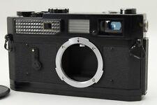 【Original Black Paint!】 Canon Model 7 Rangefinder Body Leica L39 Screw JPN #2893