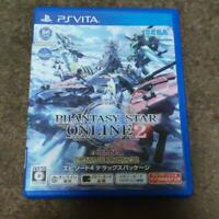 PS Vita【PHANTASY STAR ONLINE 2】Episode 4 Deluxe Package/JAPAN/w/tracking