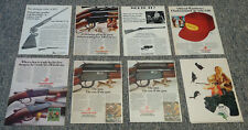 Collection of 8 WINCHESTER 1970's ad pages~ bolt action 22, model 9422, 37A