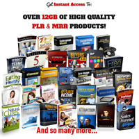 🔥 Over 12GB Digital Products PLR MRR Rights - DOWNLOAD FROM PREMIUM ACCOUNT