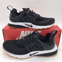 Nike Air Presto Running Shoes 878068-005 Black White Gum Women's Multi Size NEW